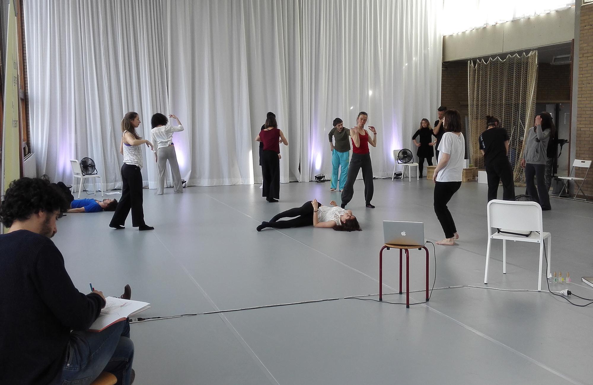 Voorkeur Dance studio rental • ICK FP-49